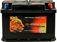 Аккумулятор G-Pard Standart 74 Ah (0) 720A R+