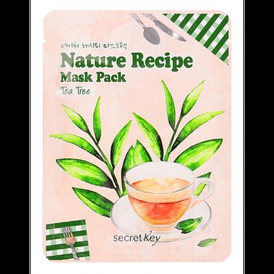 Секретный ключ природы Тканевая маска с Зеленым Чаем от Secret Key