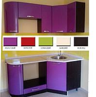 Кухня Гамма глянцевая угловая 1.8*0.9 м