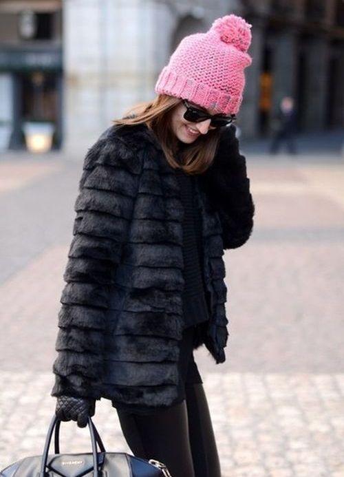 шапка зимняя женская купить