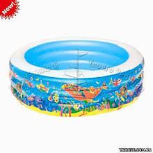 Детский надувной бассейн BestWay 51122 Скат