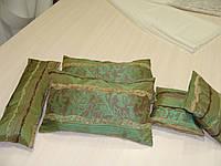 Комплект подушек  Рельеф зелень , 5 шт , фото 1