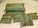 Комплект подушек  Рельеф зелень , 5 шт , фото 2