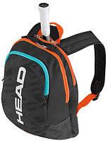 Детский теннисный рюкзак на 1 ракетку HEAD Kids Backpack 2017 726424366583 черный