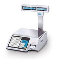 Весы торговые с печатью этикетки CAS CL5000J «Техноваги»