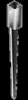 Наконечник колонны A-типа 71x71х150 L=600mm
