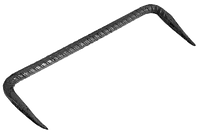 Скоба строителбная (арматурная) 250х60х 8 мм
