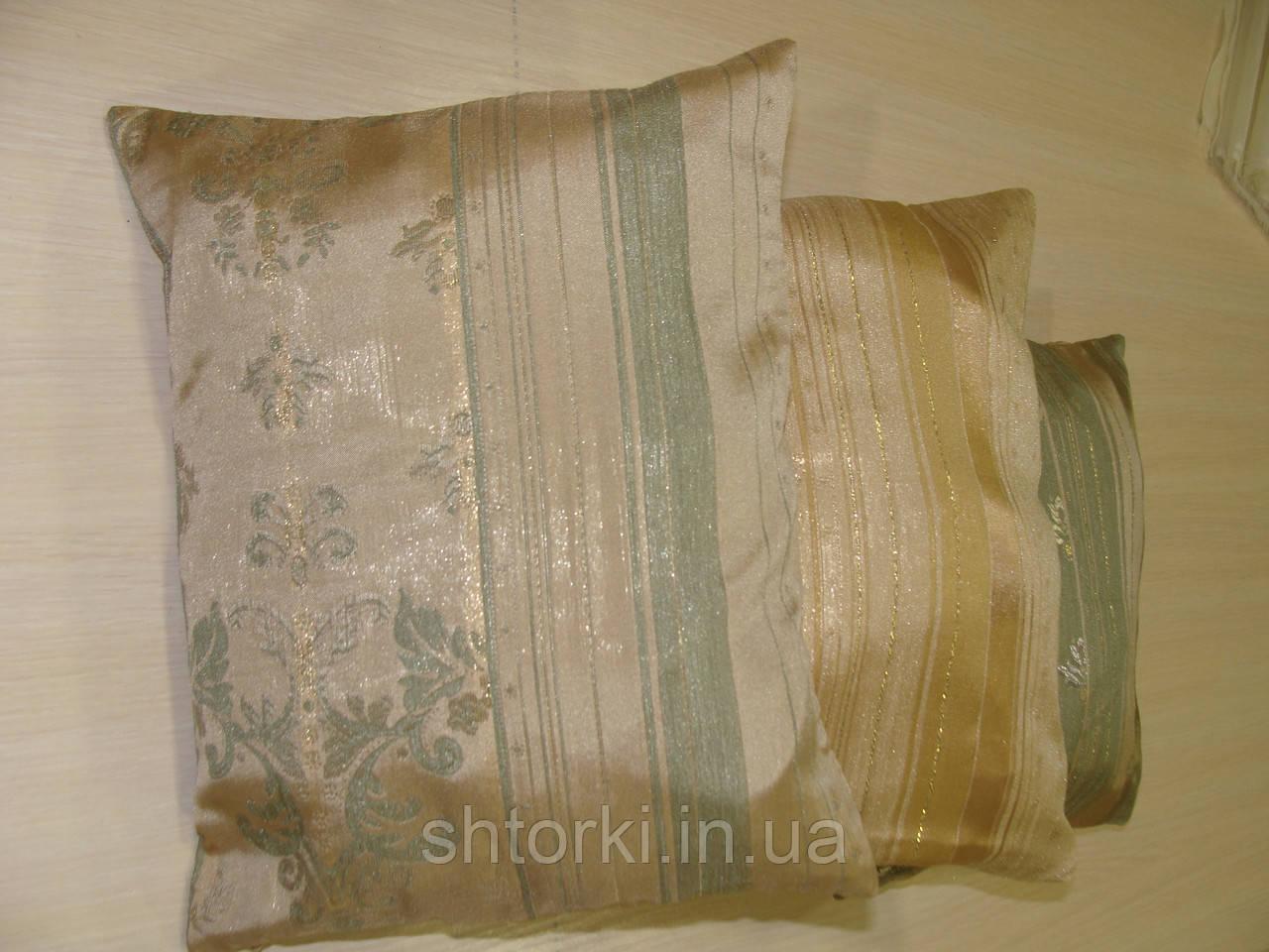 Комплект подушек  Арда оливково песочные , 3 шт