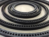 Ровно Муфта Асбестовая соединительная ВТ-9 диаметр 100-500мм + Кольца резиновые уплотнительные САМ, фото 1