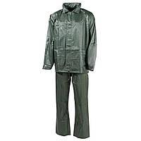Дождевой костюм MFH тёмно-зелёный 08301B