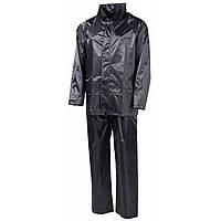 Дождевой костюм MFH чёрный 08301A