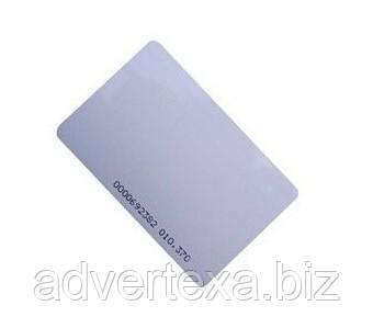 Заготовка домофонного ключа 125 кГц RFID карта тонкая