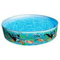 Детский каркасный бассейн Intex 58461 Ocean ReefSnapset™ Pool