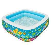 Детский надувной бассейн Intex 57471 «Аквариум»