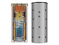 Комбинированная буферная емкость Meibes SKSW-2 801 с двумя т/о (без изоляции)