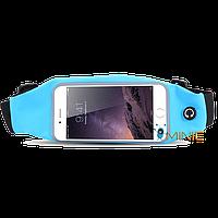 Спортивный чехол на пояс для бега под смартфоны (чехол для бега и фитнеса на пояс), фото 1