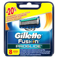 Лезвия для бритья Gillette ProGlide Power 8 шт  Оригинал! Германия!
