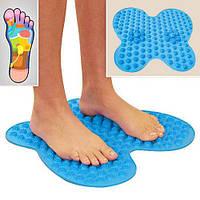 Коврик массажный для ног типа бабочка Futzuki Reflexology Mat Foot