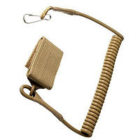 Страховочний шнур з велкро кріпленням та карабіном COYOTE