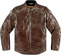 Мотокуртка ICON Retrograde кожа коричневый 2XL