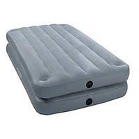 Надувная кровать Intex (67744)  152*203*46 см