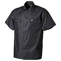 Рубашка с коротким рукавом MFH чёрная 02712Q b9a443e8c0bd5