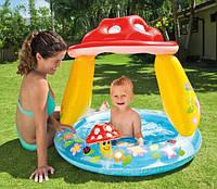 Надувной детский бассейн с навесом «Грибок» Intex 57114