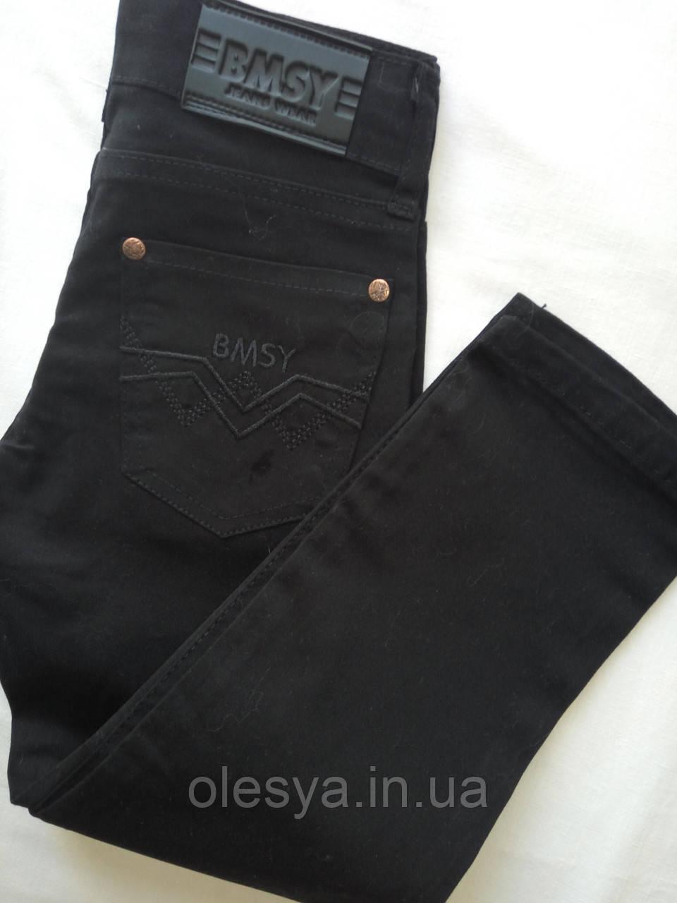 Черные джинсы в школу на мальчика размеры 10, 11 лет