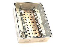 Коммутационная коробка на 100 (110) пар, пластиковая, на винтах, IP67 (аналог KRB-100)