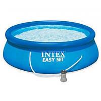 Семейный надувной бассейн Intex Easy Set Pool 366х84 см (28142)