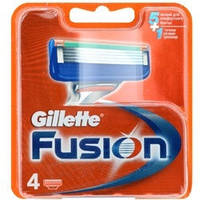 Сменные кассеты лезвия Gillette Fusion Power упаковка 4 шт  Оригинал! Германия!