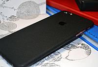 """Виниловая наклейка """"Чёрный структурный мат"""" Iphone 6 PLUS / 6S PLUS (0,2 mm)"""