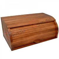 Хлебница деревянная 02, тонированная, фото 1
