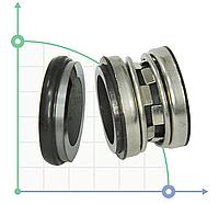 Торцевое механическое уплотнение для насоса BS2100-16/Viton/SS316 L2