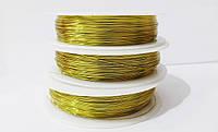 Проволока  0.3 мм   30 м  золото