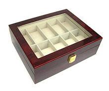 Шкатулка для часов мужская деревянная 10 отделений Rothenschild