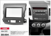 Переходная рамка Peugeot (4007) 2007-2012 / MITSUBISHI Outlander XL 2006-2012 / CITROEN C-Crosser 2007-2012 CARAV 08-004