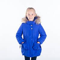 """Зимняя куртка для девочки """"Рената """", 24-32 размер"""