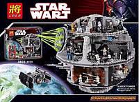 Конструктор Lele серия Star Wart 35000 Звезда Смерти(Аналог Lego Star Wars 75159)