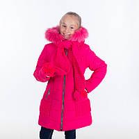 """Зимняя куртка для девочки """"Эля """",6-11 лет"""