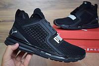 Мужские беговые кроссовки PUMAIGNITE black