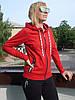 Спортивный костюм женский на молнии трикотаж  высокий рейтинг мода