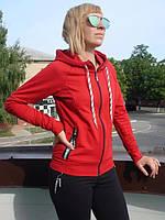 Спортивный костюм женский на молнии трикотаж  высокий рейтинг мода , фото 1