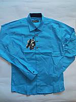 Рубашка подросток для мальчика IKORAS от 10 до 15 лет.