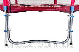 Батут Atleto Mip 404 см с двойными ногами, фото 3