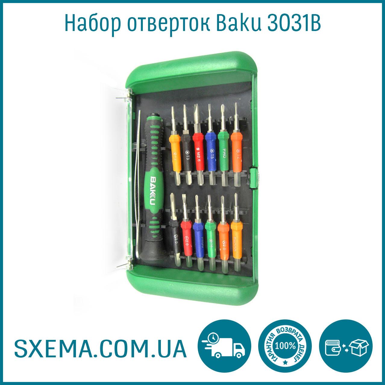 Набор отверток BK-6312 для смартфонов и планшетов
