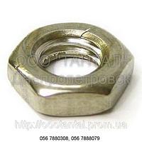 Гайка шестигранная низкая от М2 до М48,ГОСТ 5916-70, ГОСТ 5929-70, DIN 439, DIN 936, ISO 4035, ISO 8675