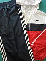 Детский Спортивный костюм плащевка на сетке Размеры 34- 38 Красный