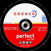 Диск шліфув. 115х6x22.2 мет Dronco