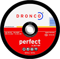 Диск шліфув. 125х6x22.2 мет Dronco